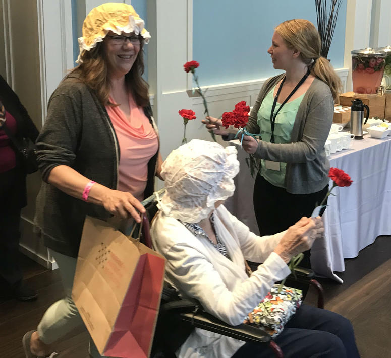 The Museum of the American Revolution held a special Mother's Day event with one of the country's original founding mothers, Martha Washington.