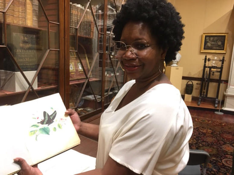 Dr. Deirdre Cooper Owens, Program Director of African American studies at the Library Company of Philadelphia