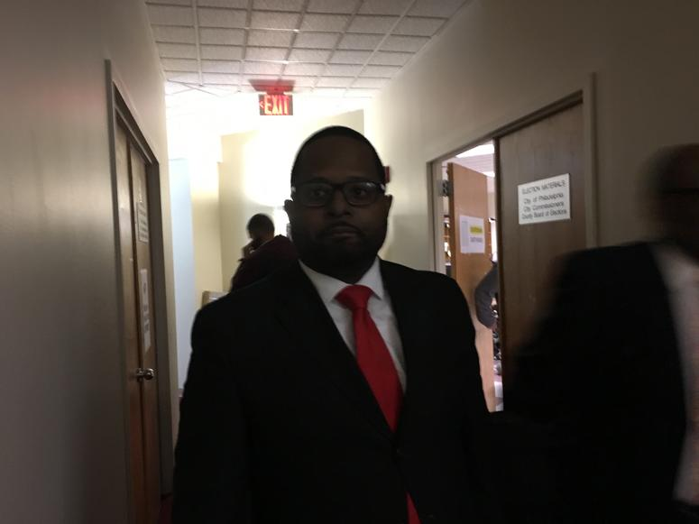 At-large candidate Willie Singletary.