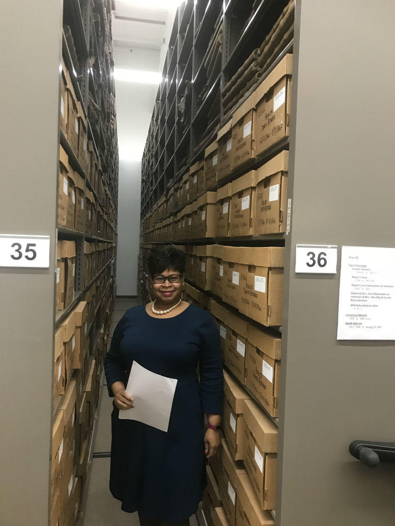 Tracey Williams, the city's deputy commissioner of records and archives, talked about what people can explore and learn when they visit the 65,000 square foot facility.