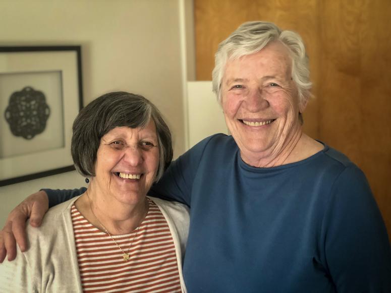 LGBT pioneers Carole Smith and Marj McCann
