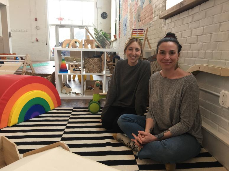 Kith + Kin owners Jessica Jones (left) and Eden Coffey (right).