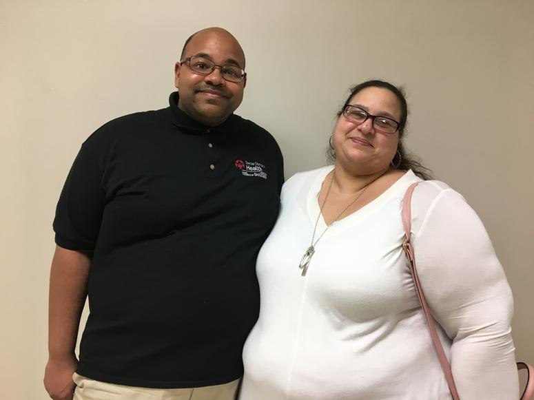 Troy Jackson with his mom Angela Jackson