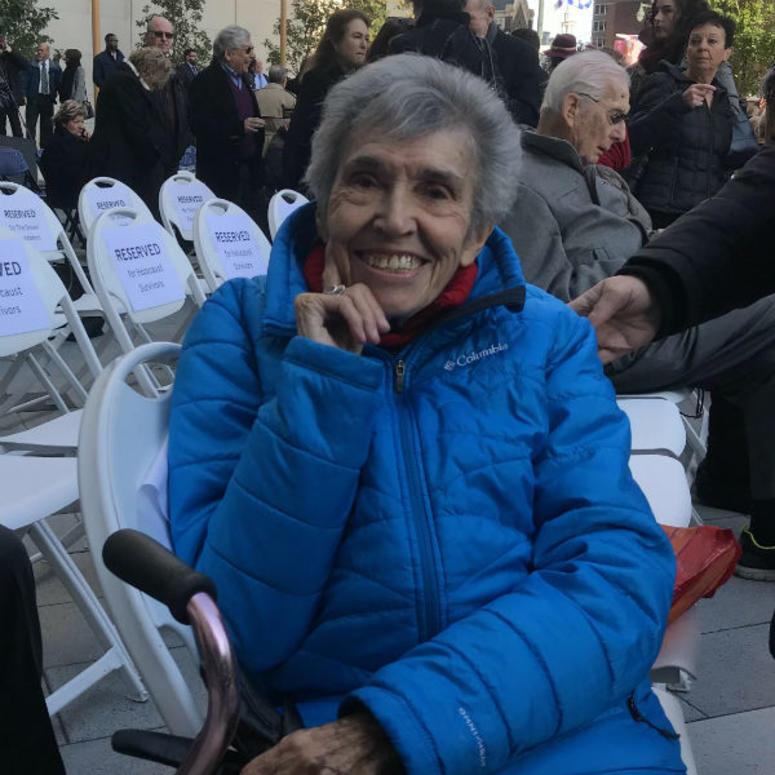 Holocaust survivor Itka Zymuntowicz