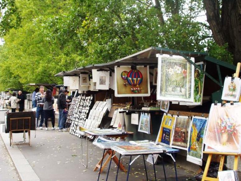 Art on display in Paris