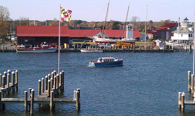 St. Michaels Harbor in Maryland
