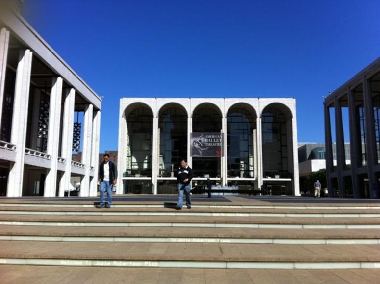 The Metropolitan Opera House in New York