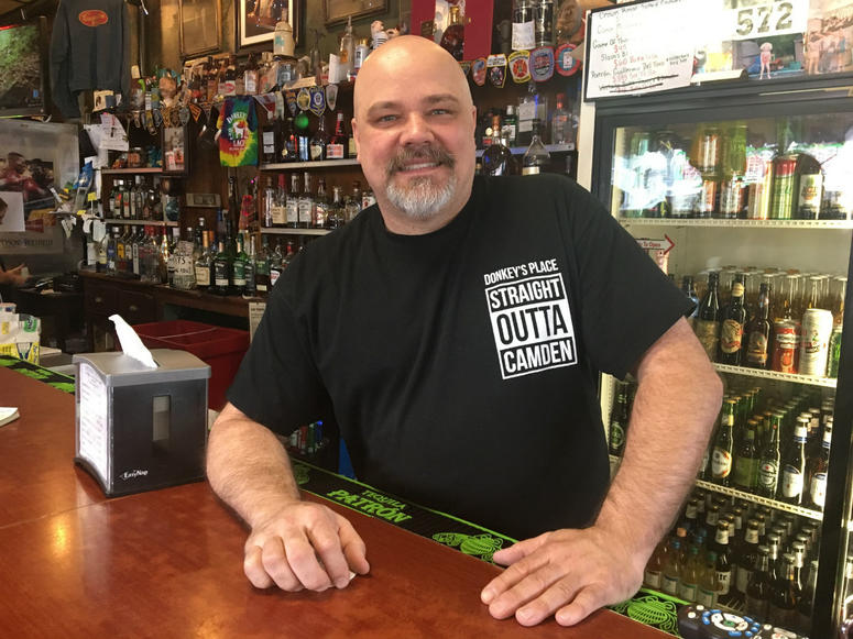 Rob Lucas is owner of Donkey's Place In Camden, N.J.