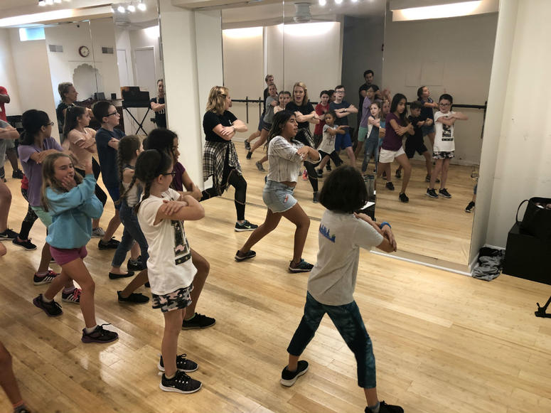 """Kids rehearse six hours a day for Music Theatre Philly's summer camp series production of """"Hamilton."""""""