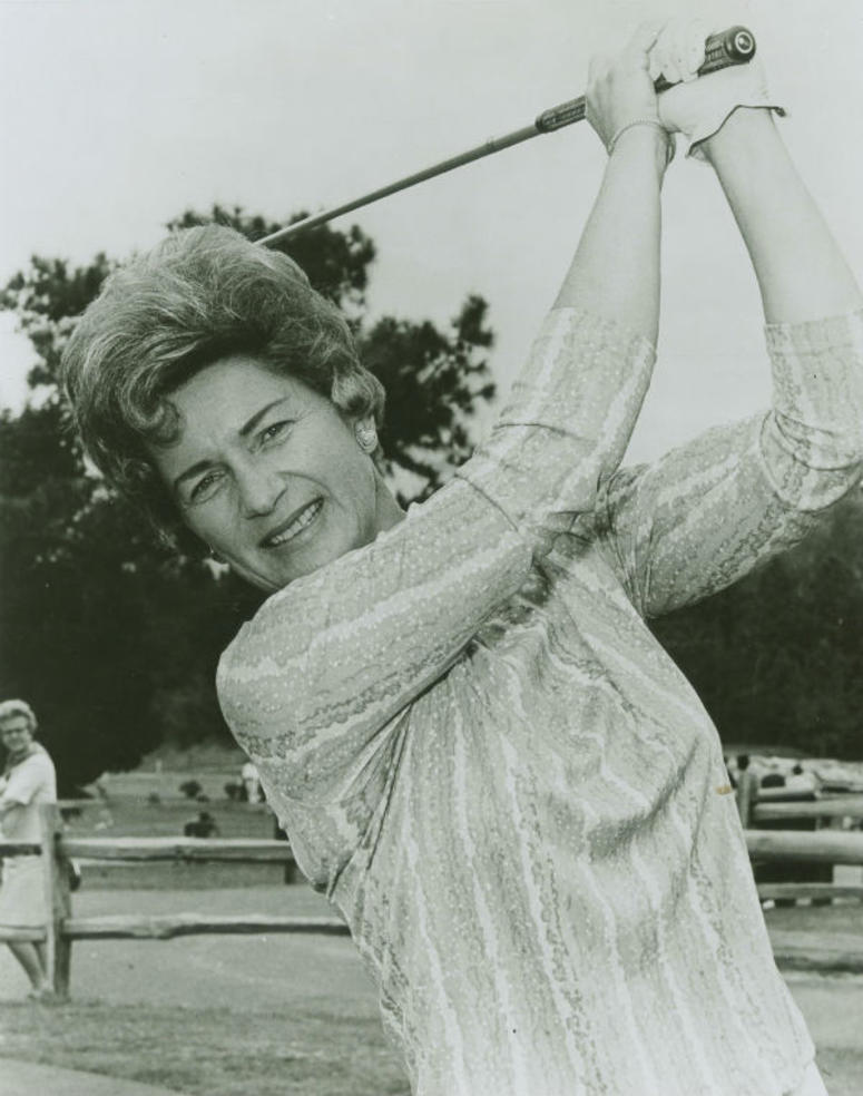 This undated photo provided by the Ladies Professional Golf Association shows Marilynn Smith, one of the founders of the organization. Smith died Tuesday, April 9, 2019. She was 89.
