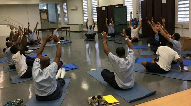 The Transformation Yoga Project offers yoga classes to inmates.