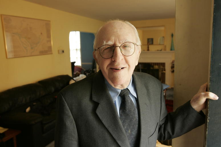 Frank Kameny, an original participant in the July 4, 1965, gay rights demonstration at Independence Mall, is shown in his Washington, D.C., home in 2005.