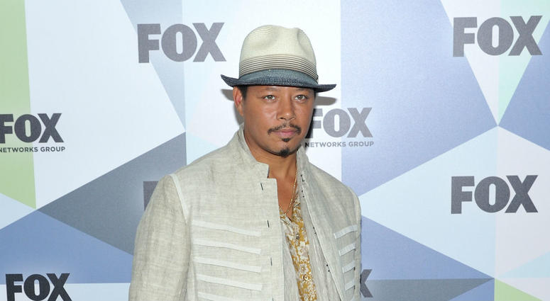 Actor Terrence Howard attends the Fox 2018 Programming Presentation Red Carpet arrivals at the Wollman Rink in Central Park on May 14, 2018 in New York City.