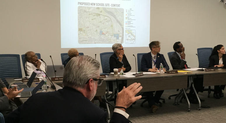 Drexel University is planning to build a new home for two Philadelphia schools. But before it can start, the university is asking the school board for help.