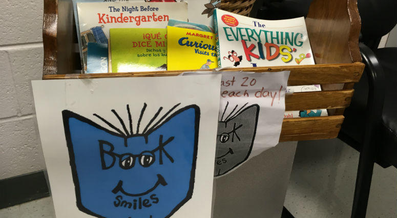 """Students at eight South Jersey schools are getting free books Friday thanks to a nonprofit that collects donations from the """"haves"""" to benefit the """"have nots."""""""