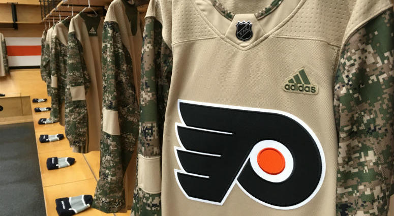 a4b7a92491 Flyers announce new team to compete in USA Hockey's wounded warriors ...