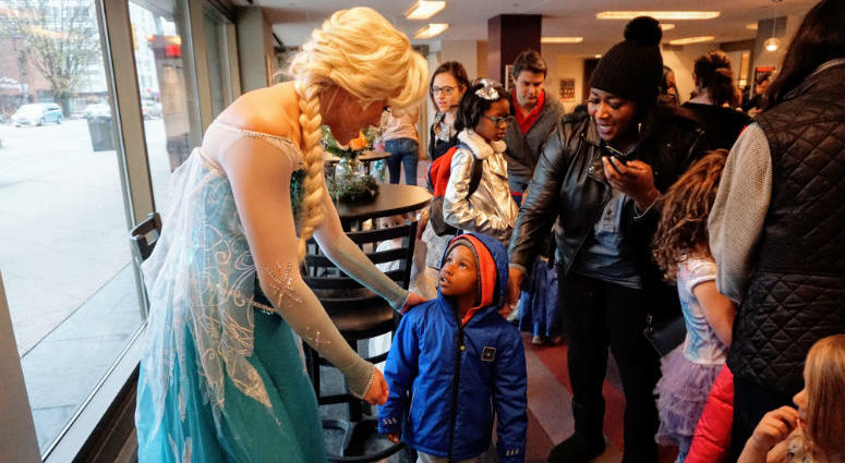 the Suzanne Roberts Theatre is offering two holiday princess concerts on Dec. 16