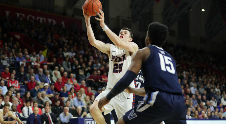 Penn junior forward A.J. Brodeur leads the team in points, rebounds, assists and blocks this season.
