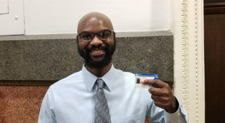 The Philadelphia municipal ID is now available. Residents who've had trouble getting other kinds of government-issued identification can get a city ID card at the 311 walk-in center in City Hall.