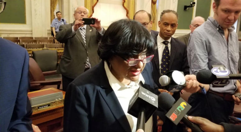 Councilwoman Jannie Blackwell.