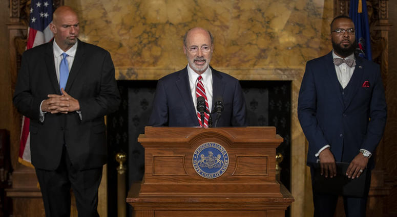 Gov. Wolf, Lt. Gov, Pardons Board Provide Update on Pardons Process, Benefit to Those with Marijuana Convictions.