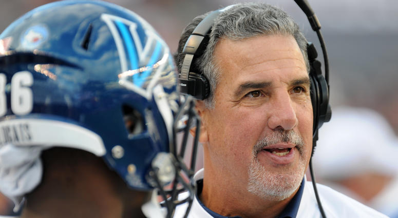 The 2019 season will be Mark Ferrante's third as Villanova's head football coach.