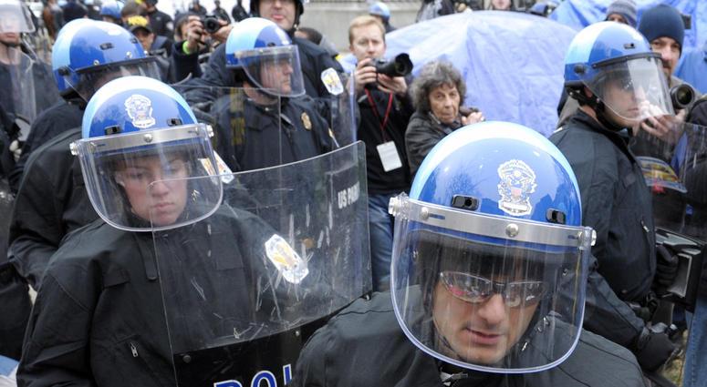 DC Riot Police