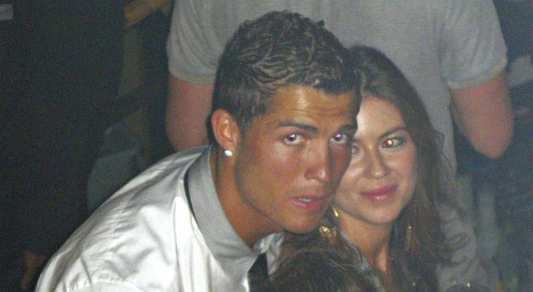 Cristiano Ronaldo with Kathryn Mayorga