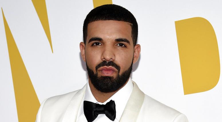 Drake arrives for the NBA Awards in New York.