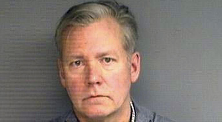 "Chris Hansen, former host of the television program ""To Catch a Predator,"" was arrested Monday in his hometown of Stamford, on charges he he wrote bad checks for $13,000 worth of marketing materials."