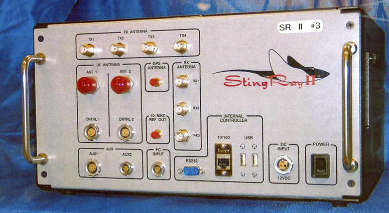 The StingRay II, a cellular site simulator used for surveillance purposes.