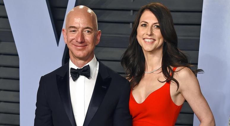 Jeff Bezos and wife MacKenzie Bezos
