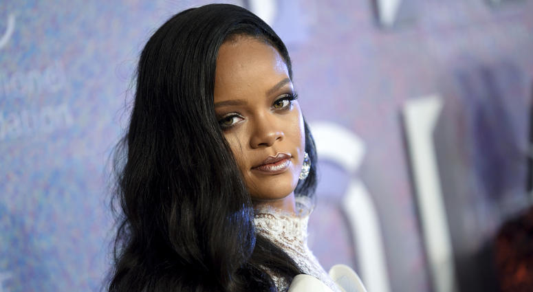 In this Sept. 13, 2018 file photo, singer Rihanna attends the 4th annual Diamond Ball at Cipriani Wall Street in New York.