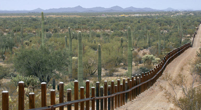 International border line
