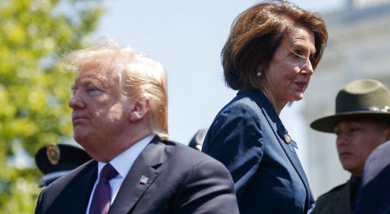 """Pelosi said Wednesday that the U.S. must avoid war with Iran and she warned the White House has """"no business"""" moving toward a Middle East confrontation without approval from Congress."""