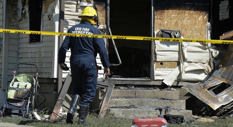 Erie Bureau of Fire Inspector