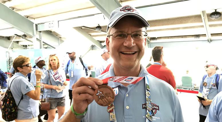 Team Philly athlete Bill Solloway