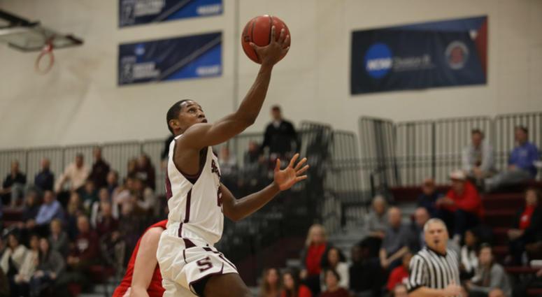 Swarthmore College senior guard Cam Wiley