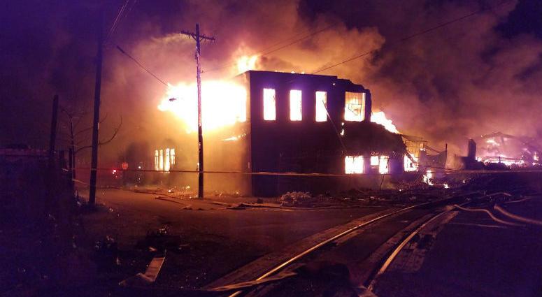 Port Richmond fire