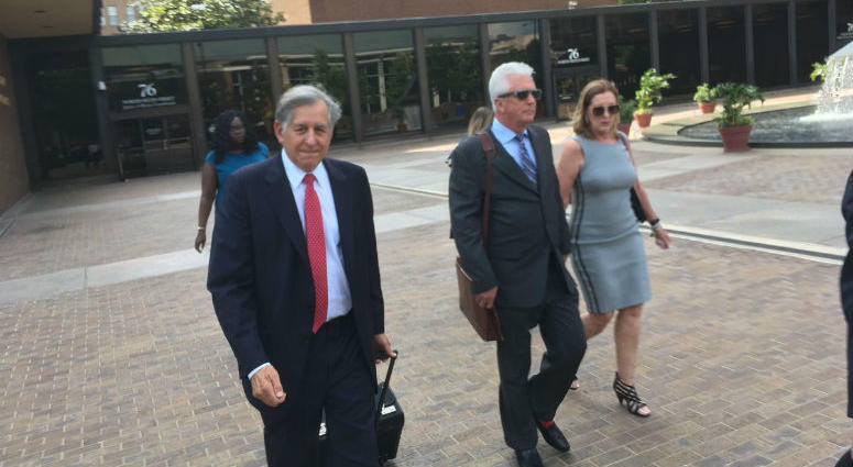 "George Peltz has been senteced. He is the first defendant in the federal authorities' case against ""Johnny Doc."""