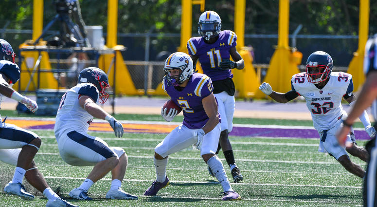 West Chester University junior wide receiver Lex Rosario.