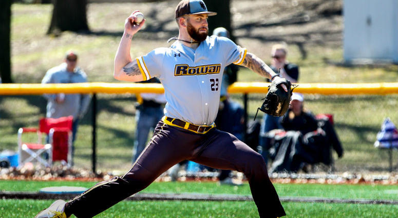 Senior RHP Danny Serreino has a 2.40 ERA this season for Division III Rowan University.