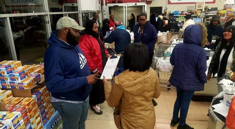 Police in Southwest Philadelphia and a few partners started off the first weekend of the new year with, what they hope, is a creative solution to a big problem.