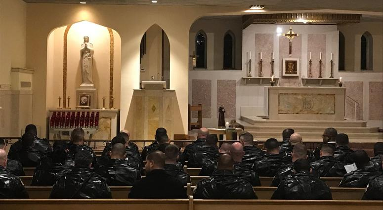 Dozens of friends, family and colleagues packed into St. Matthew Church in Northeast Philadelphia Wednesday night for a special Mass of healing for Philadelphia Police Officer Andy Chan.