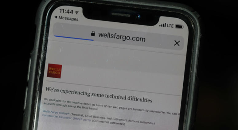 Wells Fargo will reverse fees after banking outage | KYW