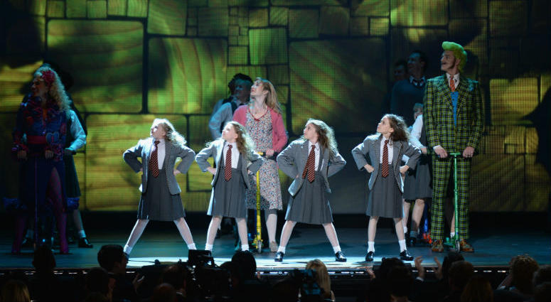 "9: The cast of ""Matilda The Musical"" performs onstage at The 67th Annual Tony Awards."