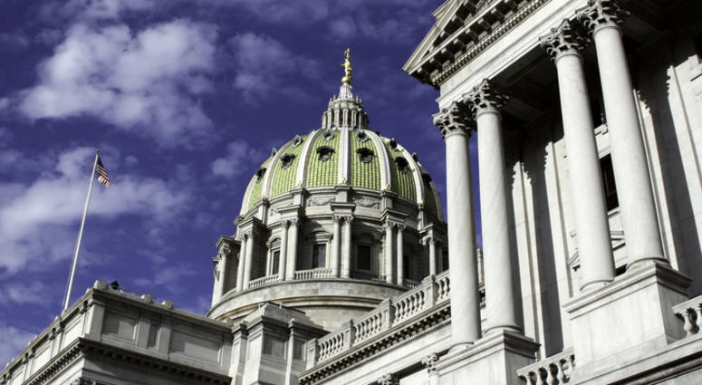 Pennsylvania Capitol Building in Harrisburg.