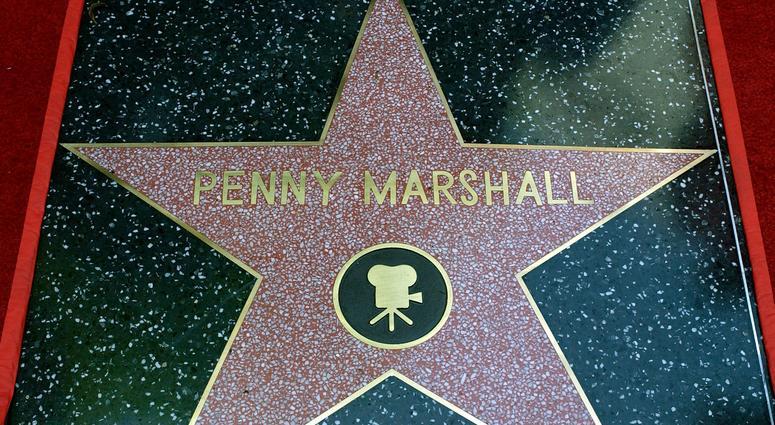 Penny Marshall's star