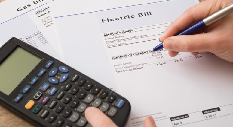 Electric bill.