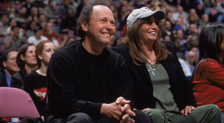 Billy Crystal and Penny Marshall